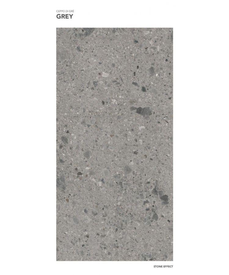 Gresie Ceppo di Gre Grey mat 120x260x0,6 cm