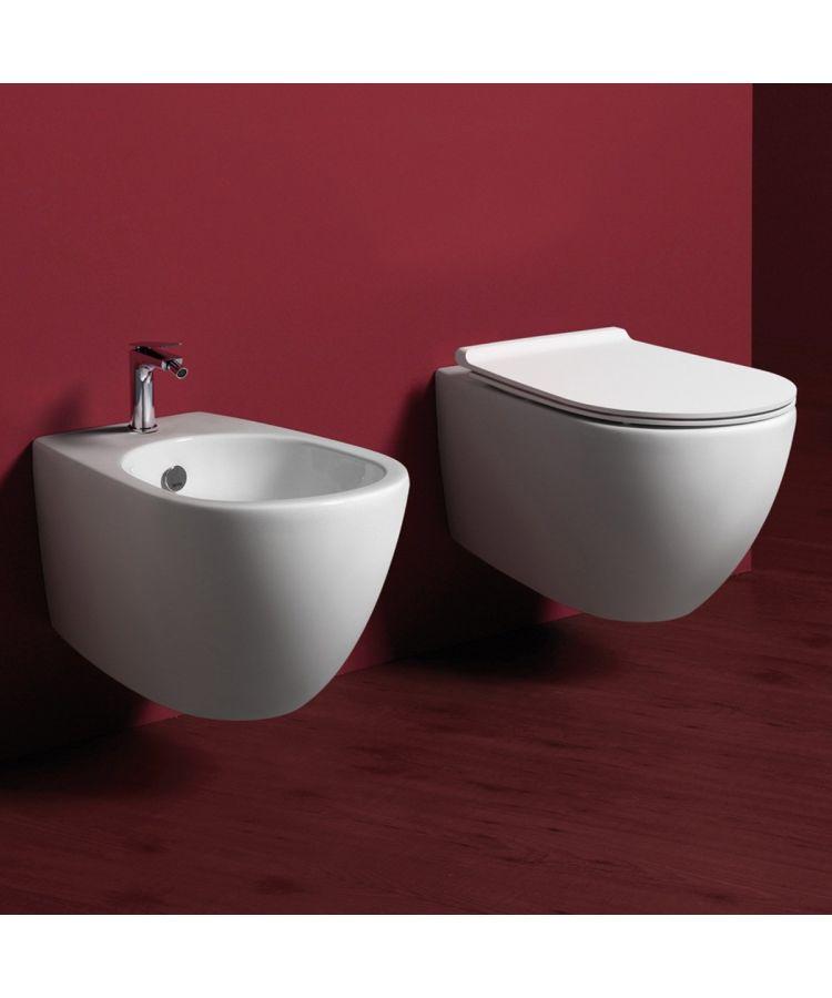 Set WC + Bide Suspendat Simas Vignoni Cu Capac soft
