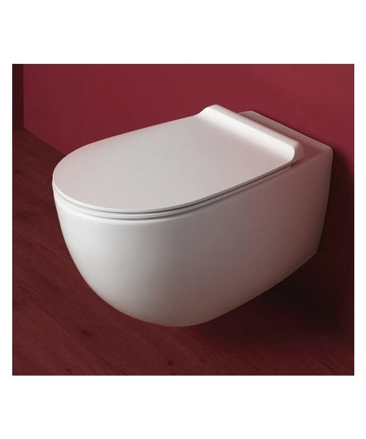 Vas WC Suspendat Simas Vignoni Rimless cu Capac Ultraslim