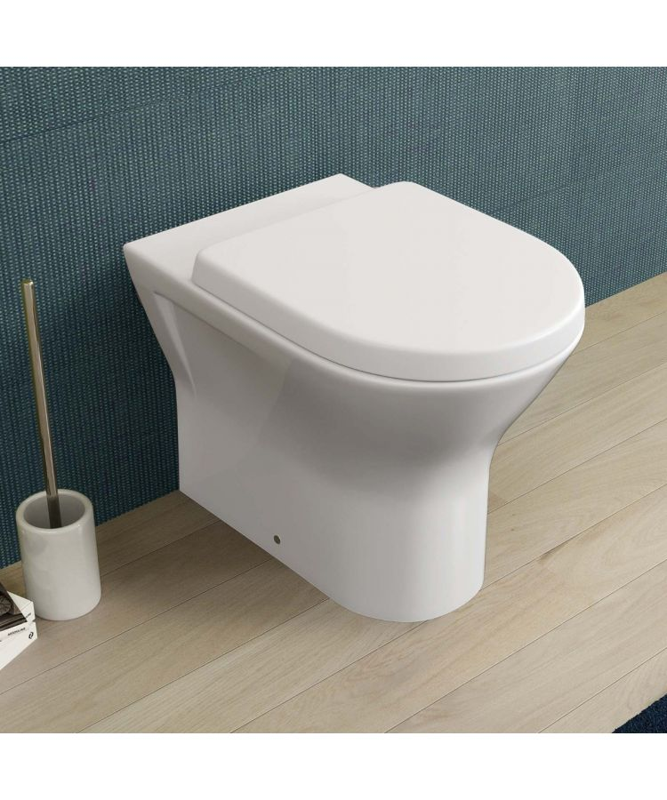 Vas WC la Perete Rimless Cu Capac Soft Close