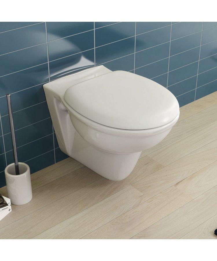 Vas WC Suspendat Ceramica Alba cu Capac