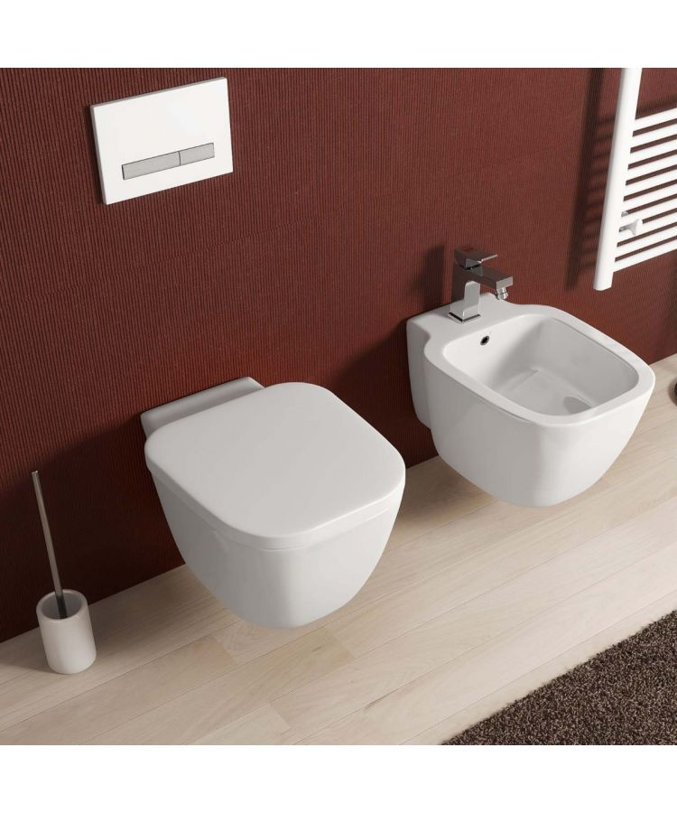 Set WC + Bide Suspendat -Design Rectangular