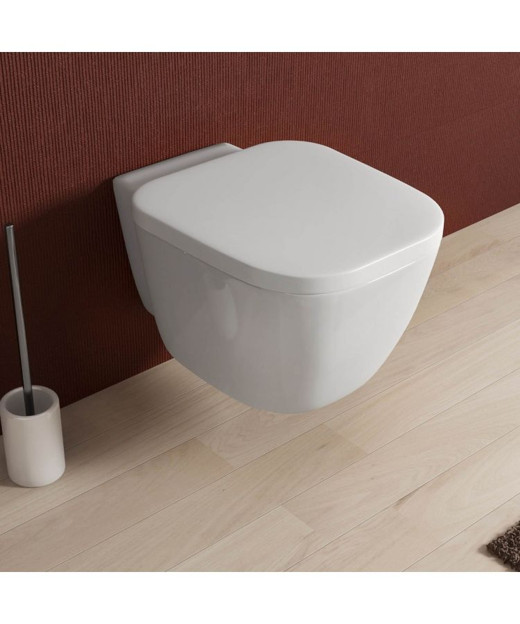 Vas WC Suspendat Forma Tip Patrat Design Modern