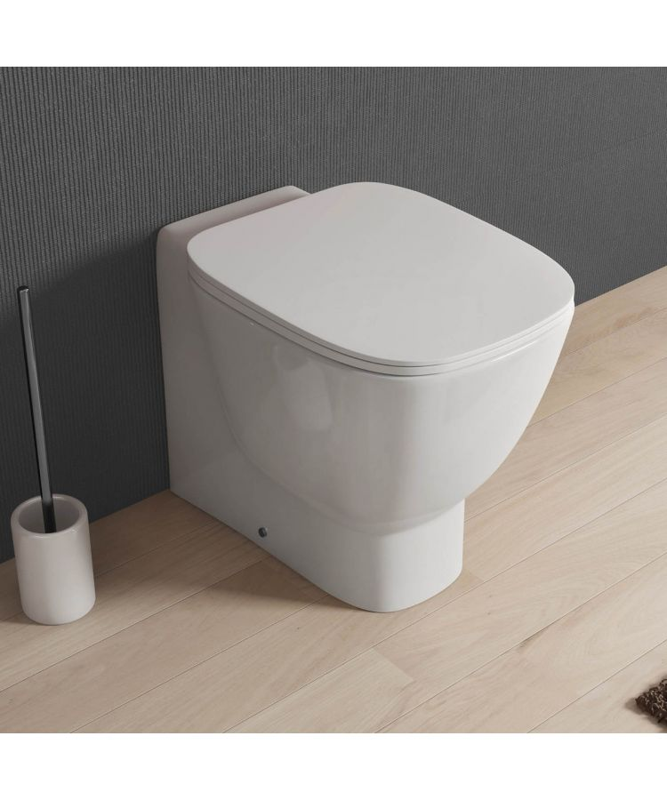 WC Montat La Perete Ceramica Cu Capac Soft-Close