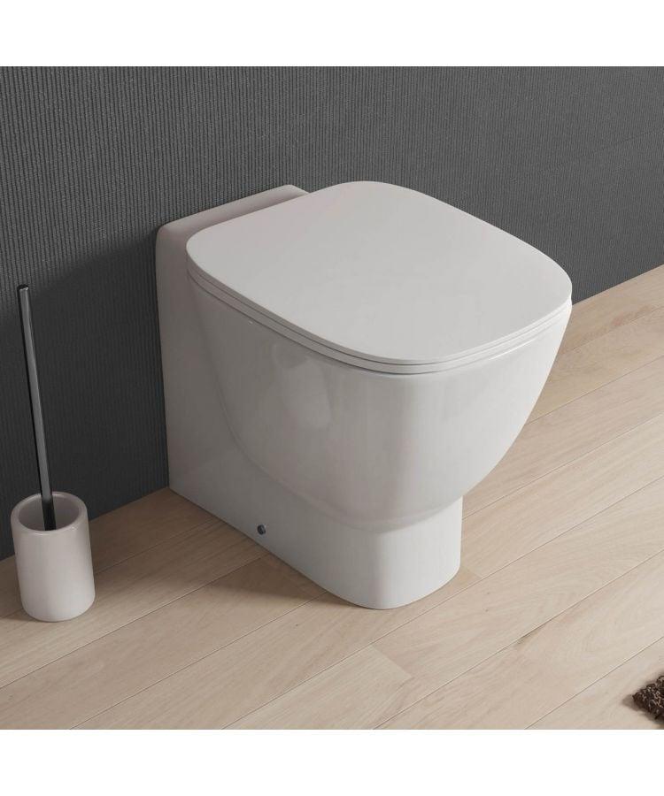 WC Montat La Perete Ceramica Cu Capac Soft-Close