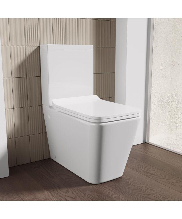 Vas WC La Perete cu Rezervor Duero si Capac Soft-Close