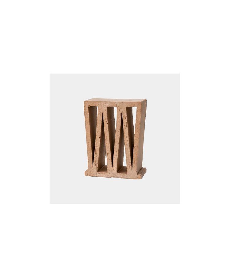 Terracotta Extrudat Decorativ Celosia 10cm
