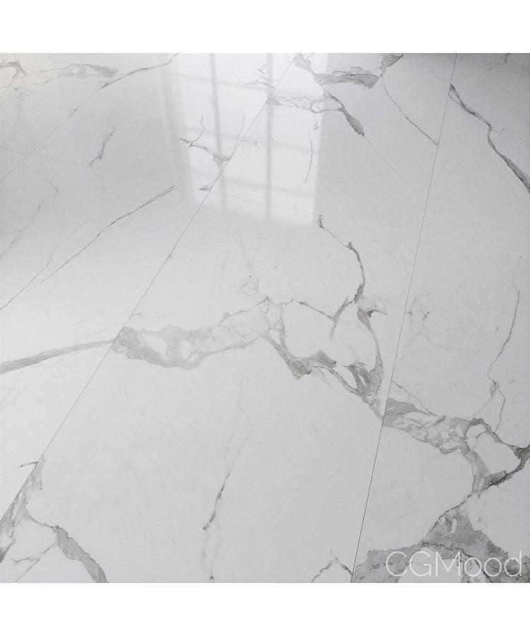 Gresie Italgraniti Statuario Lux Semi Lucios 60x120 cm