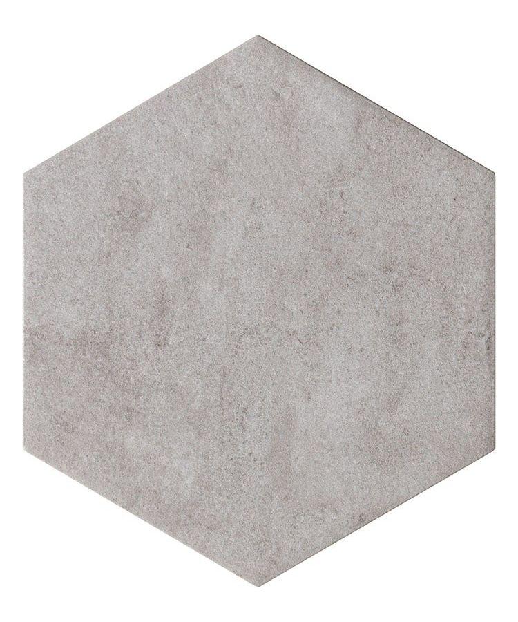Gresie Hexagonala Bibulca Esagona Grey 18x21