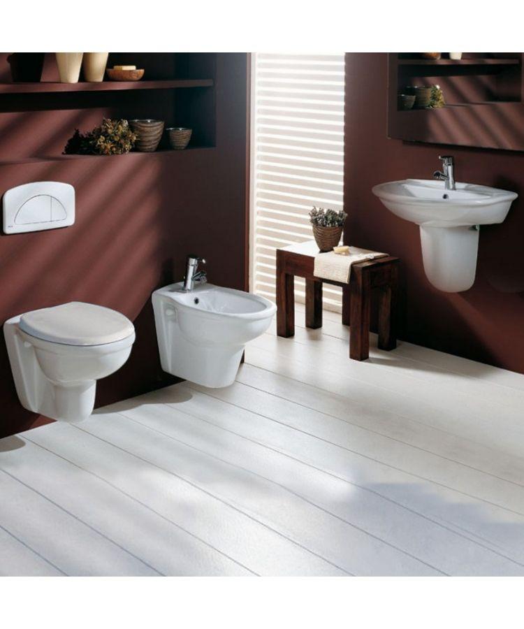 Set Sanitare WC+Bide+Lavoar cu Semi-Coloana