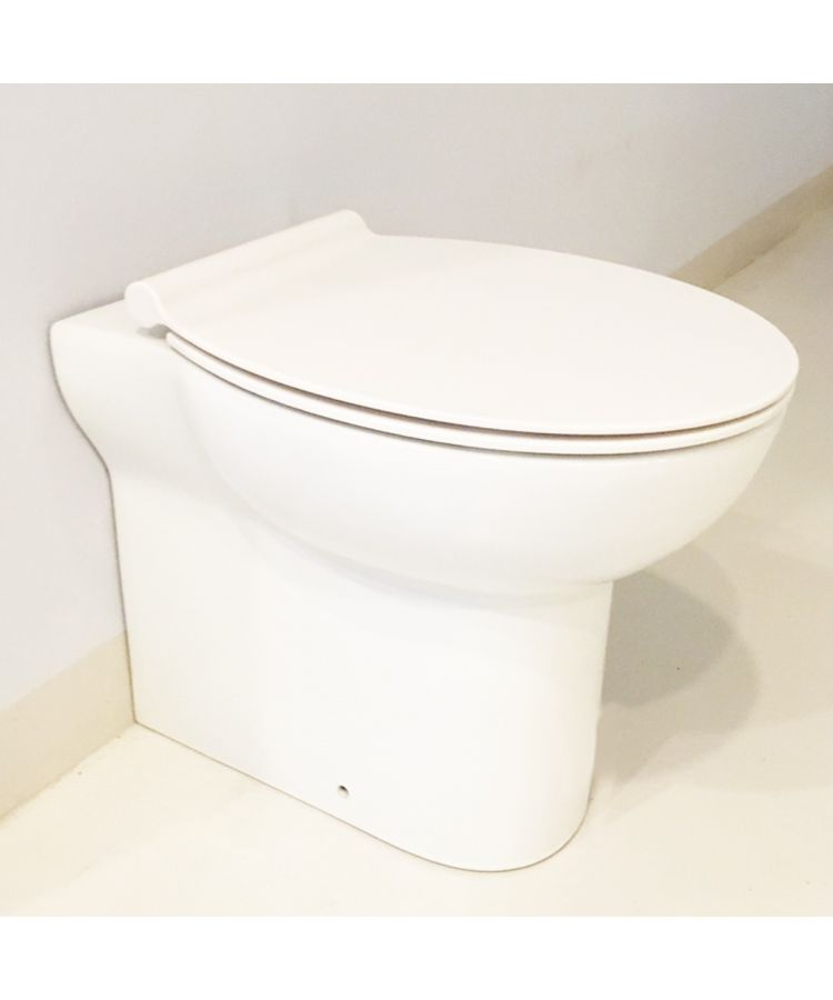 Vas WC Pe Pardoseala Azzura Water Alb