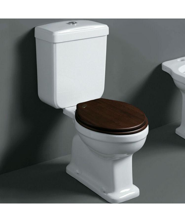 Vas WC Monobloc din ceramica Simas Londra cu capac soft close