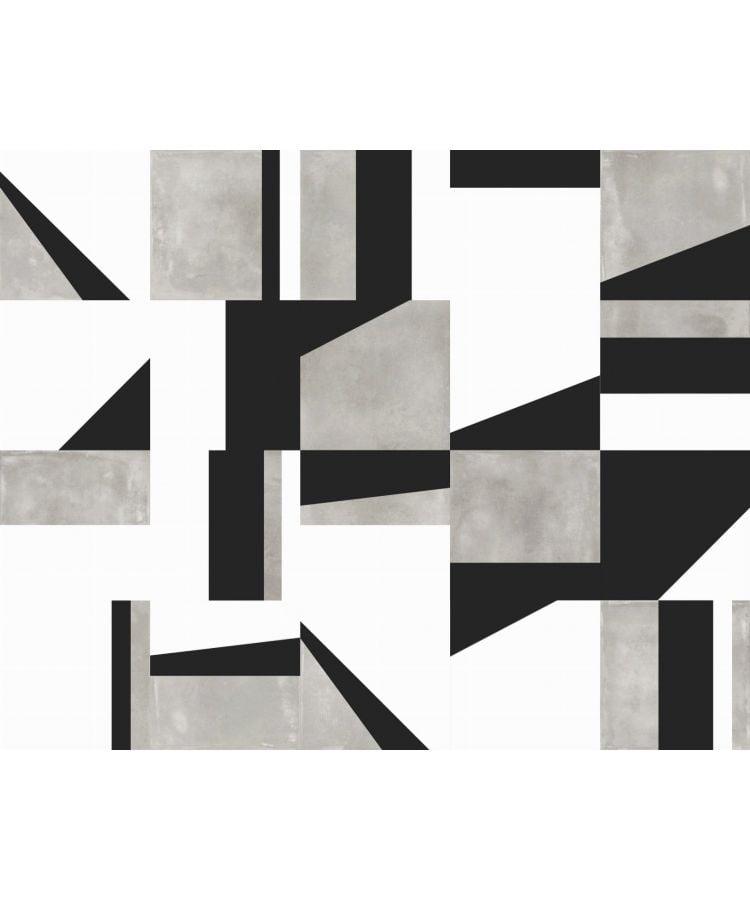 Gresie Abk Edge Mix Grey 20x20 cm