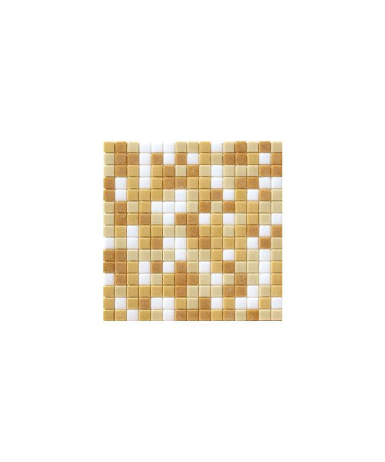 Mozaic Cromie Aqua Beige Mix 20x20 mm