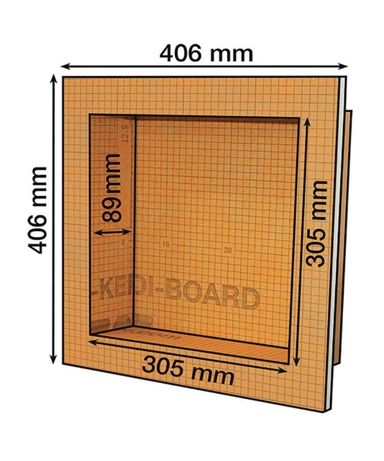 Nisa Baie Prefefabricata Schluter Kerdi Board N 40x40 cm