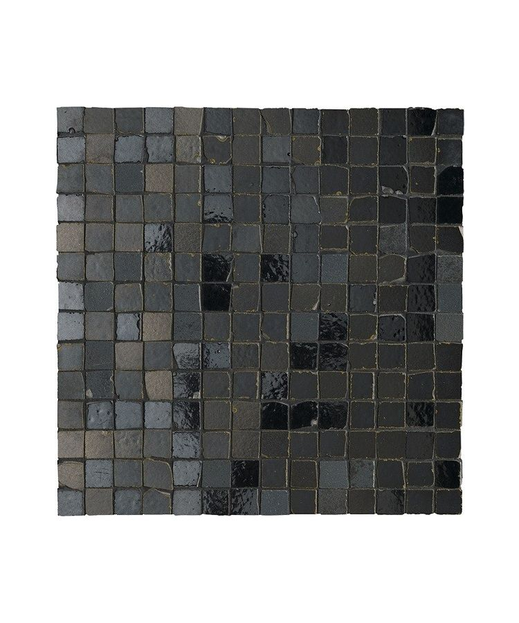 Mozaic Ceramic Metaline Mosaico Metal Iron 30x30