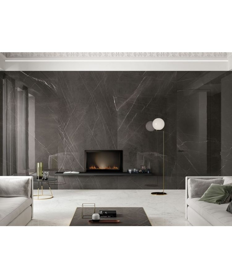 Gresie Lux Experience Pietra Grey Lucios 60x120 cm