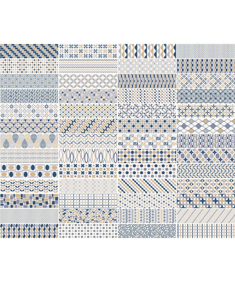Faianta Patternbrick Multi Cold 7.3x30