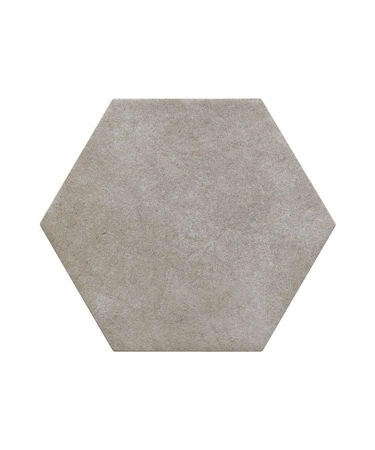 Gresie Hexagonala Bibulca Esagona Taupe 18x21