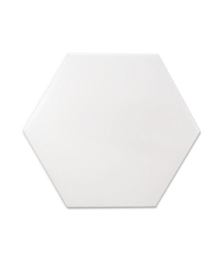 Gresie Bibulca Esagona White 18x21