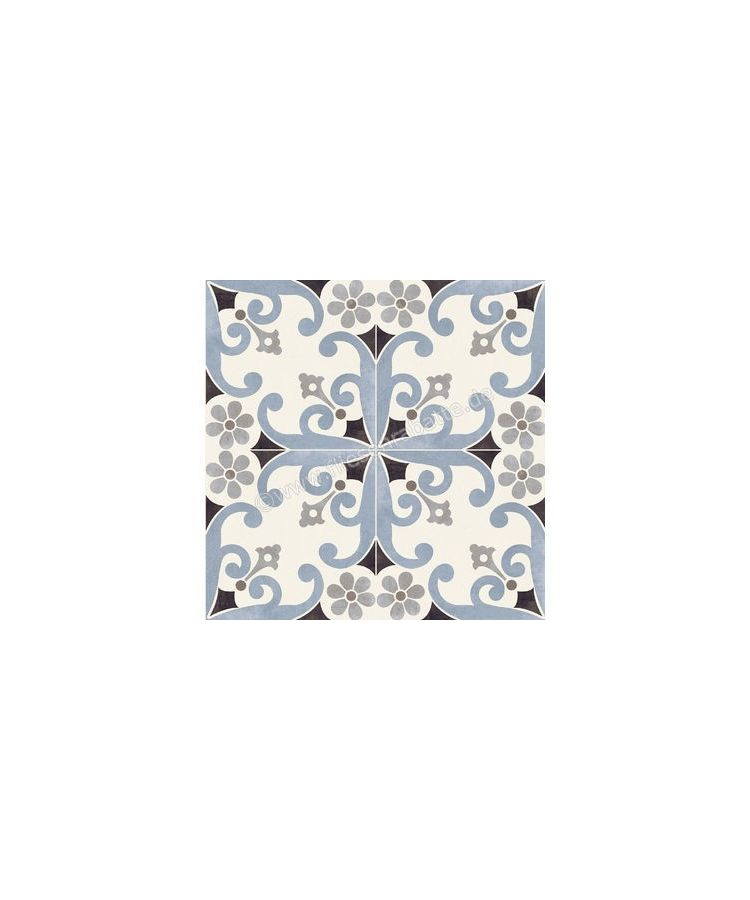 Gresie Decorata Paris Montmartre Blu 20x20 cm