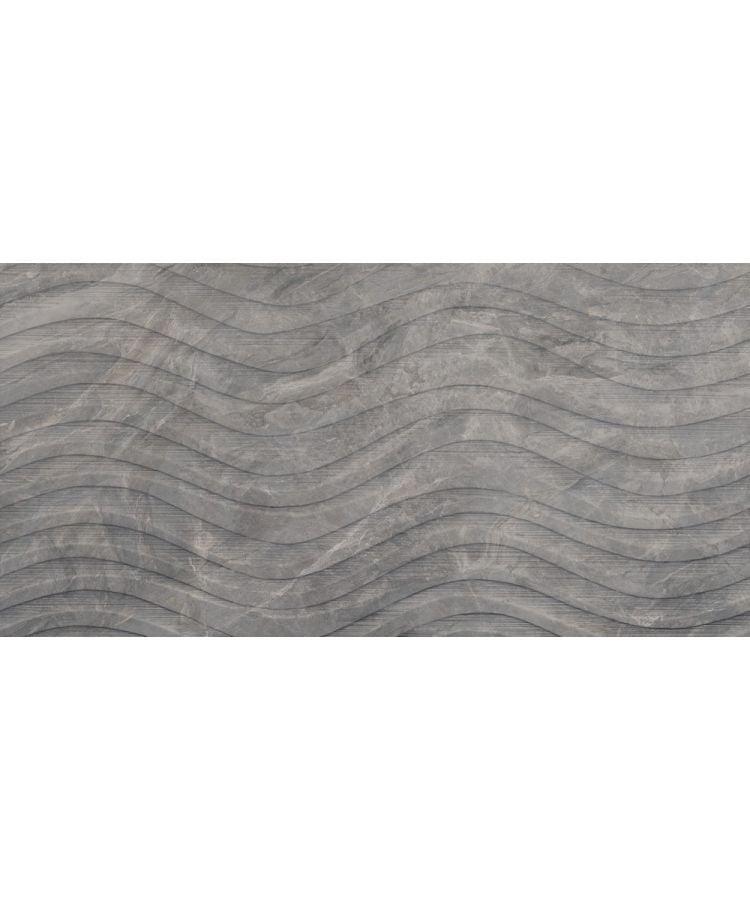 Faianta Marble Experience Orobico Grey Onda 60x120 cm