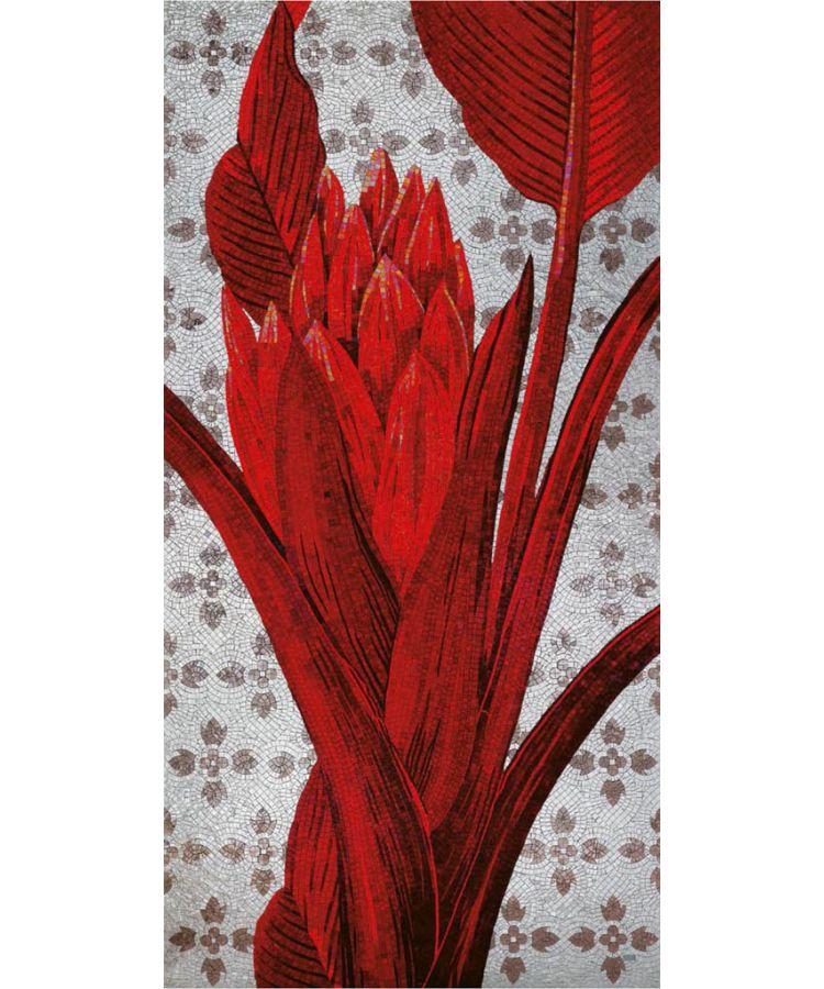 Panou Mozaic Artizanal Sicis Flower 132x239 cm