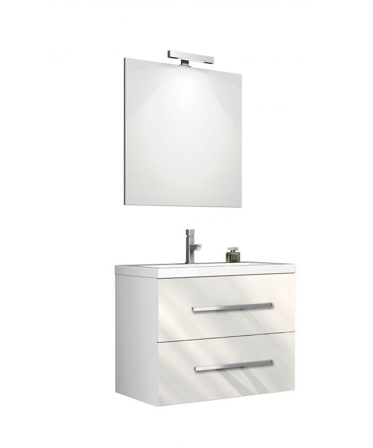 Set Complet Mobilier Baie Giudi Bianco L60 cm