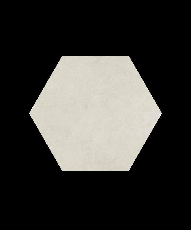 Gresie Hexagonala Bibulca Esagona White18x21