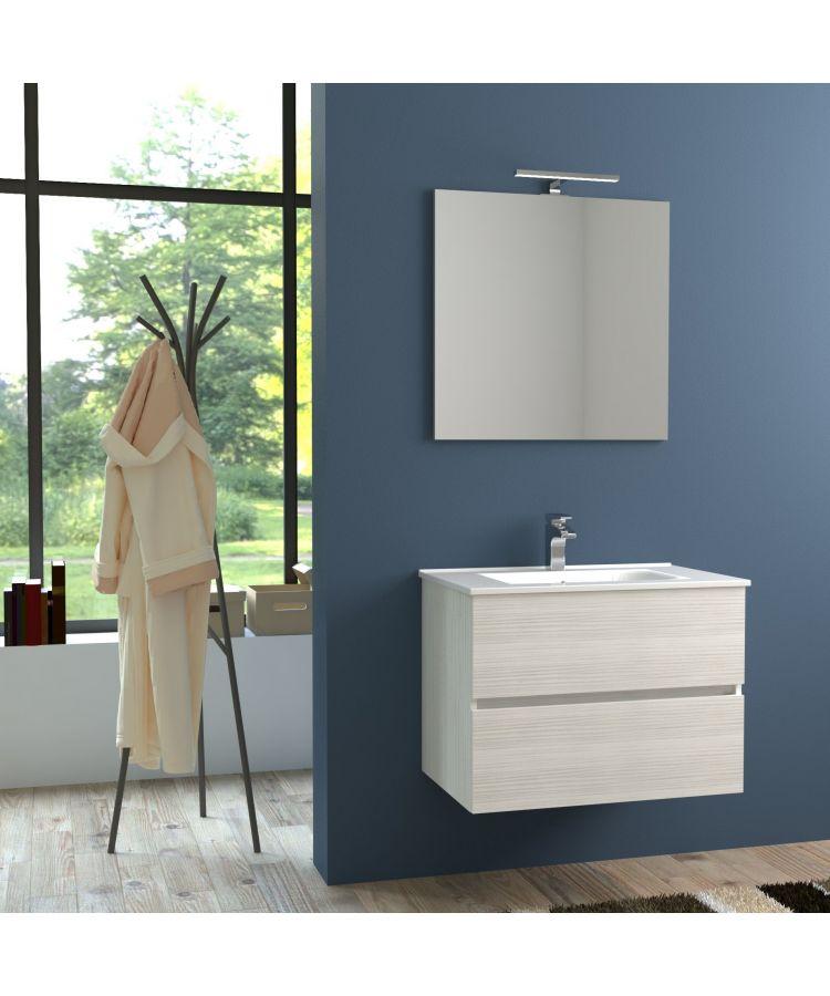 Mobilier Suspendat Baie Idea Stella Harmony Bianco Matrix 80 cm