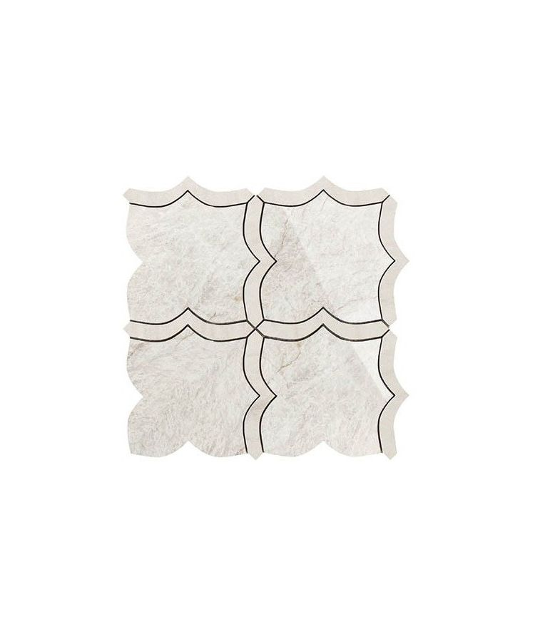 Mozaic pe plasa Mosaico Arabesque Mix Taj Mahal 30x30 cm
