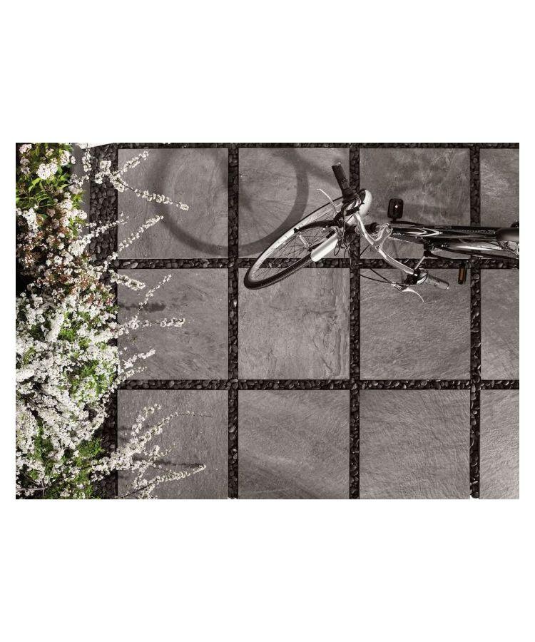 Gresie Outfloor20 Quarzite Grey 60x60x2 cm