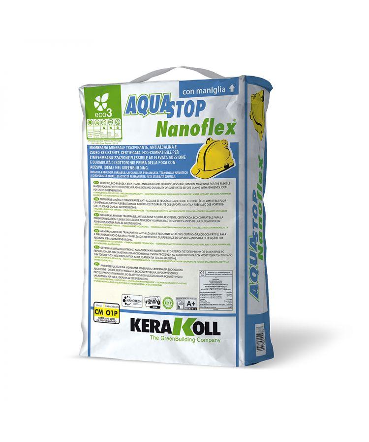 Hidroizolatie Kerakoll Aquastop Nanoflex® Sac 20 kg