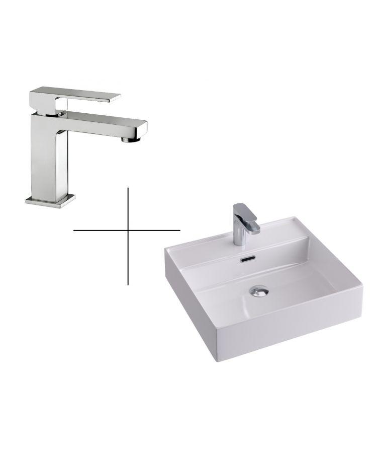 set robinet+lavoar