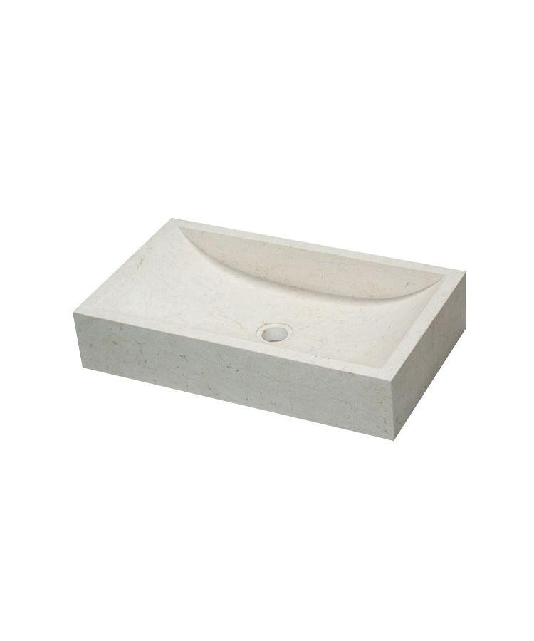 Lavoar Piatra Simmetrie Bianco 35x60 h12 cm