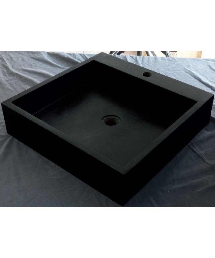 Lavoar Bazalt Negru Patrat 50x50 h12