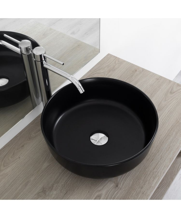 Lavoar Ceramica Rotund CLR3NM Ø 38 cm