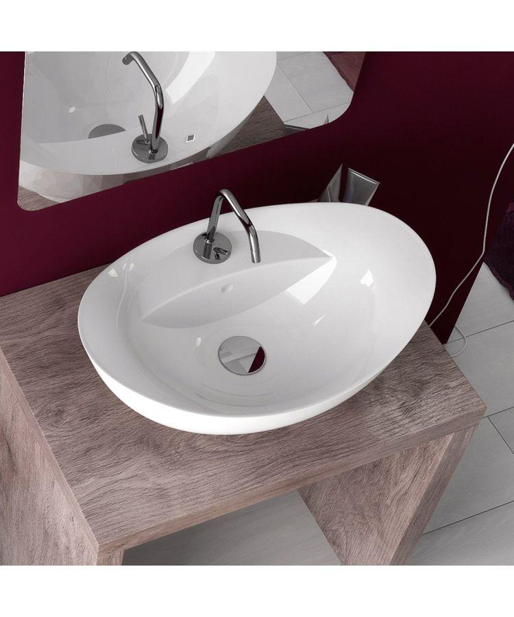 Lavoar Ceramica Oval LAV22 58x39 cm