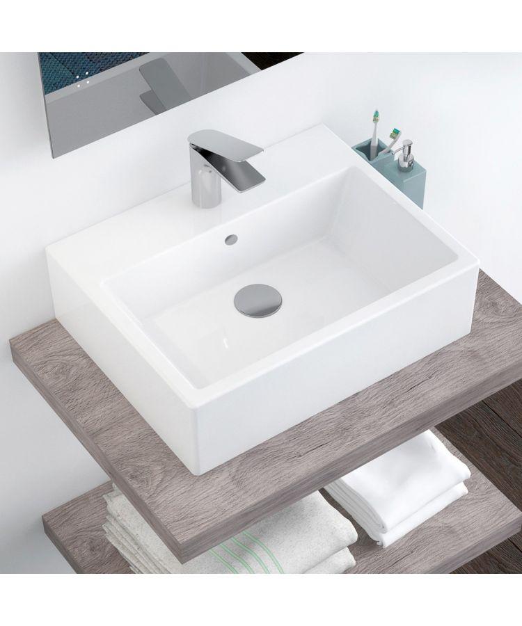Lavoar Ceramica Dreptunghiular LAV26 53x40 cm