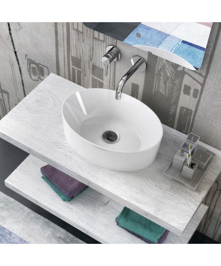 Lavoar Ceramica Oval LAV9 50x35 cm