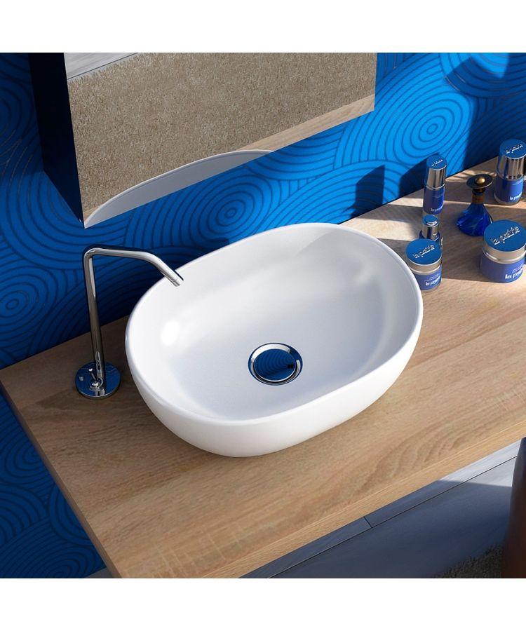 Lavoar Ceramica Oval SLIM51 60x42 cm