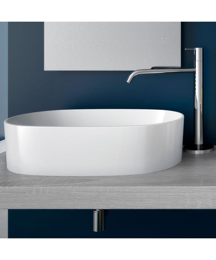 Lavoar Ceramica Oval SLIM52 57x37 cm