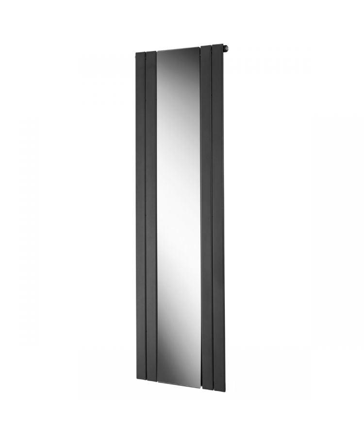 Radiator decorativ Lazzarini Empoli gri antracit cu oglinda 1800x600 mm