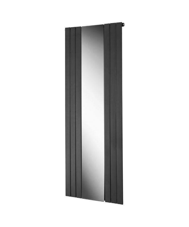 Radiator decorativ Lazzarini Empoli gri antracit cu oglinda 1800x750 mm
