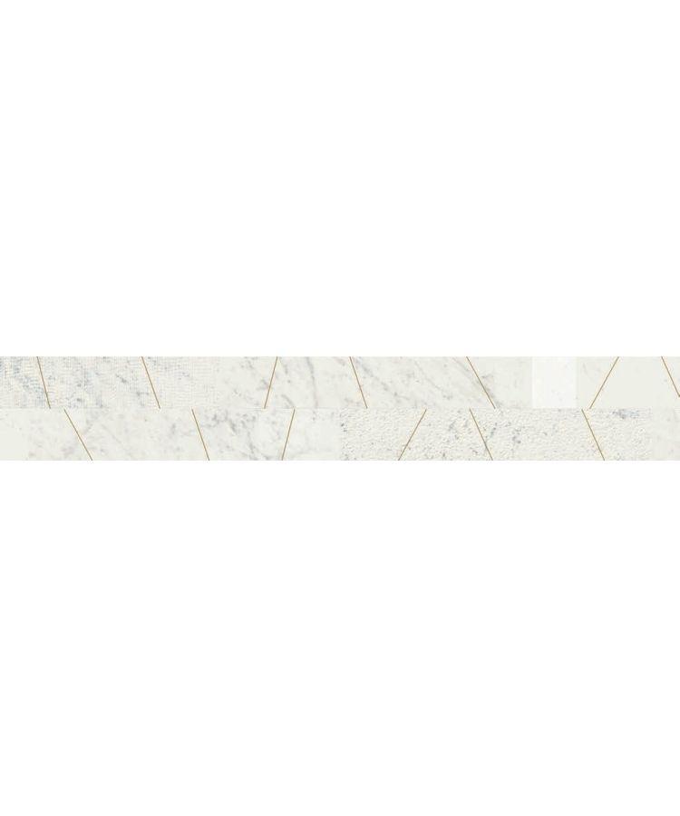 Faianta Listello Mix Ottone Statuarietto 20x120