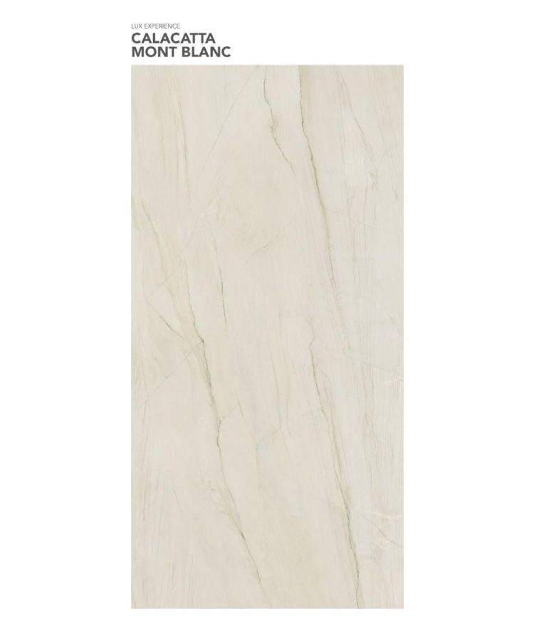 Gresie Calacatta Mont Blanc Lucios 160x320x0,6 cm