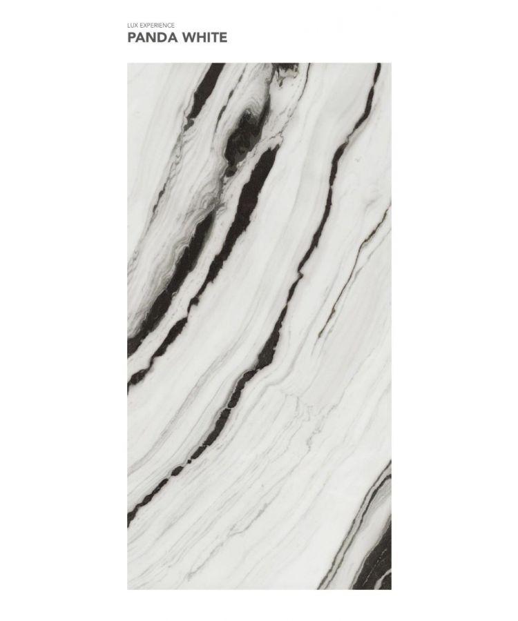 Gresie Panda White lucios 160x320x0,6 cm