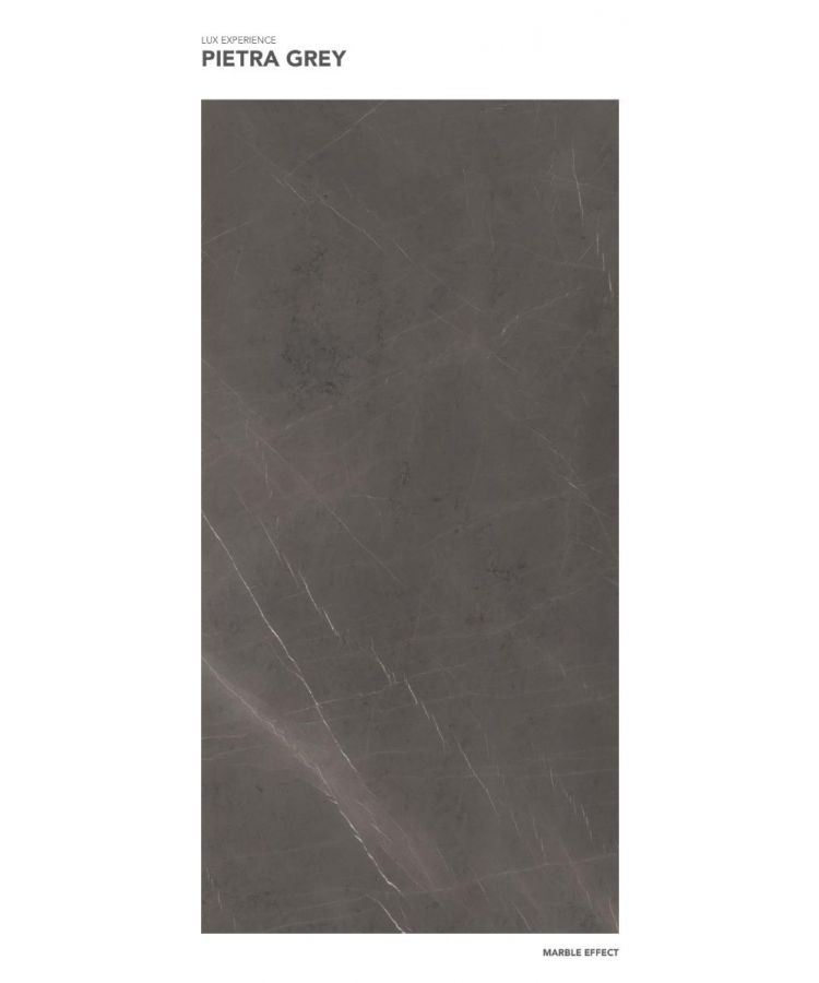 Gresie Pietra Grey lucios 120x260x0,6 cm