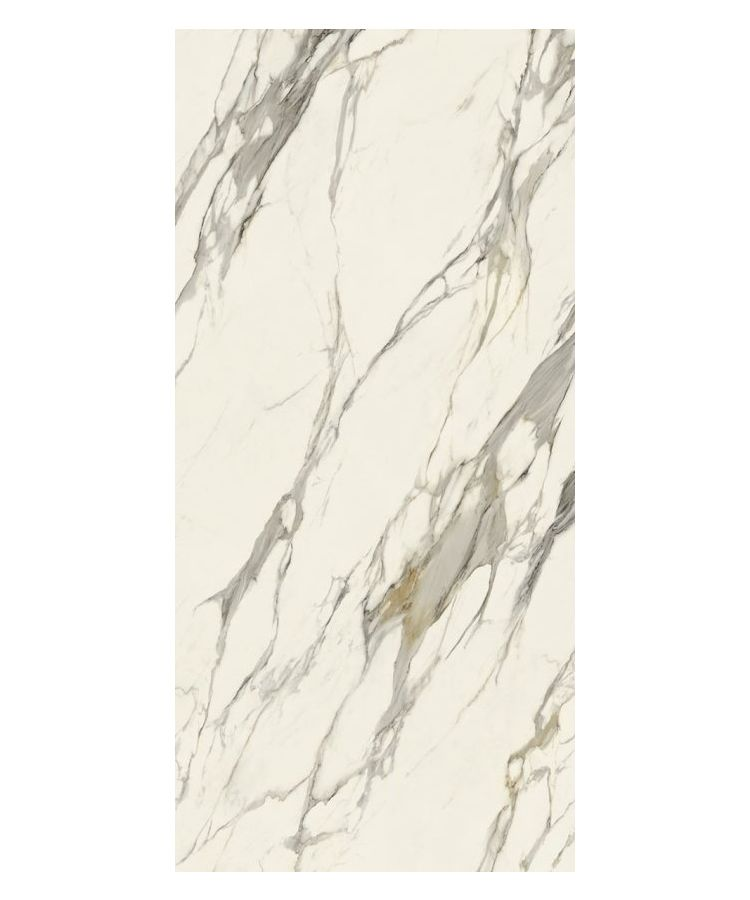 Lastra Gresie Boutique HBO 7 Calacatta Oro Lucios 120x260x0,6 cm