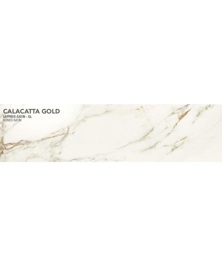 Gresie Calacatta Gold Lucios Satinat 20x120 cm